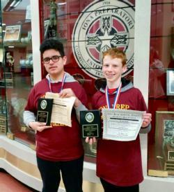Villa Mathletes Win at Iona Prep Math Olympiad - Latest News